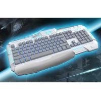Wholesale Membrane ergonomic gaming keyboards backlight With 19 key anti-ghosting from china suppliers