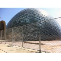 Wholesale No-dig galvanized metal temporary chain link fence for America supplier from china suppliers