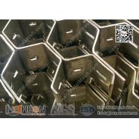 Buy cheap Hex-Mesh Refractory Lining Stainless Steel 310S 3/4
