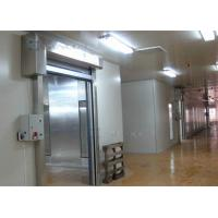 Quality 304 Stainless Steel Frame Industrial High Speed Door For Internal and External Area for sale