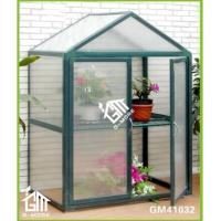 Wholesale 108x55x118cm Green Color Double Door Nursery Series Garden Greenhouse from china suppliers