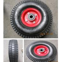 Buy cheap 4PR Turf Pattern Rubber Wheel (4.10/3.50-4) TYRE TIRE TUBE from wholesalers
