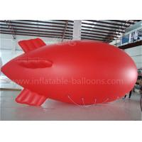 Wholesale Red Inflatable Remote Controlled Blimp Outdoor Zepplin Big Helium Balloons from china suppliers