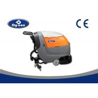 Wholesale Hand Held AC Power Compact Floor Scrubber Machine For Restaurant / Oil Places from china suppliers