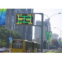 Wholesale High Density P20 Road Lane Control Signals , Outdoor Led Message Signs Large View Angle from china suppliers