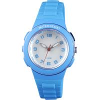 Colorful Kids analog watches EL light Y121E movement round children plastic watches