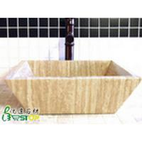 Wholesale Travertine Beige Stone Sink from china suppliers