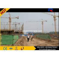 Wholesale 25 Tons Erecting Tower Crane , Electric Tower Crane Boom Length 70m For Heavy Duty Lifting from china suppliers