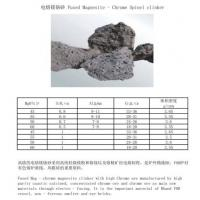 Buy cheap Fused Magnesite - Chrome Spinel clinker from wholesalers