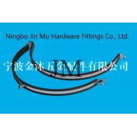 Wholesale M8 / M10 Nut Heavy Duty Large Diameter Hose Clamps With Zinc Plated Surface from china suppliers