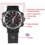 Y31 16GB 720P WIFI IP Spy Watch Hidden Camera Recorder IR Night Vision Home