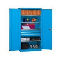 Wholesale Mobile Metal Tool Cabinet , Tool Box On Wheels With Handle For Workshop Garage from china suppliers