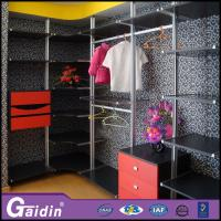 Wholesale Modern household online furniture stores luxury walk in wardrobe pole system from china suppliers