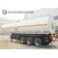 Wholesale Colored Cargo Tractor Oil Tank Trailer 3 Axle With Gravity Discharge from china suppliers