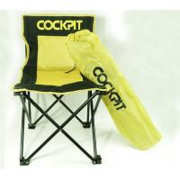 Wholesale Custom Yellow and Black Folding Beach Chair with Carrying Bag , 300 IBS Load from china suppliers