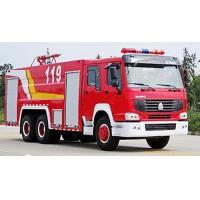 Wholesale SINOTRUK HOWO Fire Fighting Truck 20CBM 10 Wheels , Rescue Fire Trucks from china suppliers