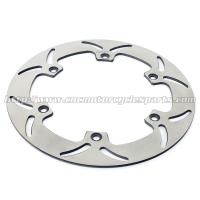 Quality CTX1300 Motorcycle Brake Disc Rotor Stainless Steel Heat Treatment Original Color for sale
