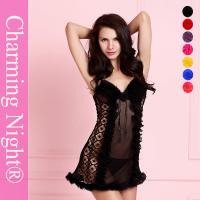 Wholesale Mesh Young Girls Sexy Chemise Lingerie Mature Women sexy night dresses from china suppliers