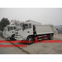 Wholesale Dongfeng 4*2 RHD 12-14m3 compacted garbage truck for sale, Factory sale best price 10tons compress garbage truck from china suppliers