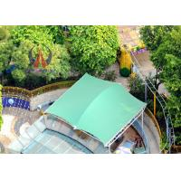 Wholesale Kid Park / Garden Sun Sail Shade Canopy , Waterproof Shade Canopy Semi Permanen Structures from china suppliers
