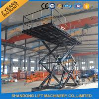 Wholesale CE 3T 4.6M Hydraulic Home Garage Car Scissor Lift , Heavy Duty Home Garage Scissor Car Lift from china suppliers