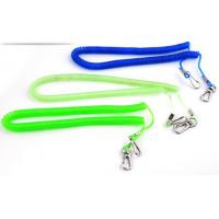 Wholesale Customized colors elastic safety harness coiled lanyard anti-drop spiral cords for tools from china suppliers