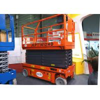 1 Man Scissor Lift Aerial Work Platform Easily Moved Proportional Control