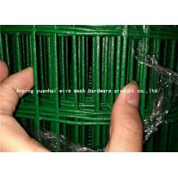 Wholesale Hot Dipped Green Wire Fencing Roll , Iron Welded Wire Livestock Panels from china suppliers