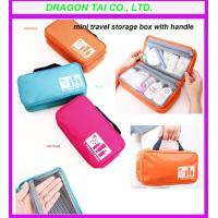 Wholesale Travel cosmetic organizer,  travel cosmetic bag,  cosmetic hangbags, size 24*13*8cm from china suppliers