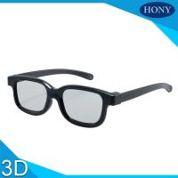 Wholesale 3D Cinema Polarized Safety Glasses , PC Plastic Reald 3D Glasses from china suppliers