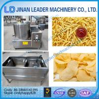 Wholesale Small scale potato chips making machine french fries machine Continuous Deep Fryer from china suppliers