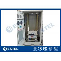 Wholesale Metal Outdoor Telecom Cabinet , Network Enclosure Cabinet With Heat Exchanger / PDU from china suppliers