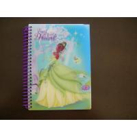 Wholesale 70g * 100p inner page hard cover 13.7 * 19 cm size Lenticular Notebook from china suppliers