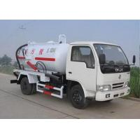 Wholesale 6.5L Energy Saving Special Purpose Vehicles , Suction Truck For Noncorrosive Mucus Liquid from china suppliers