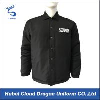 Wholesale European Size Winter Law Enforcement Coats , Police Duty Jackets With Printing Logo from china suppliers