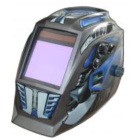 Wholesale Impact Resistant Solar Powered Auto Darkening Welding Helmet Large Window from china suppliers