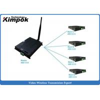 Wholesale TDD COFDM IP Mesh Video + Audio + data Ethernet Transceiver Two-way Communication from china suppliers