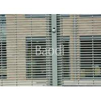 China Prison Vinyl Coated Anti Climb Fence Panels , 358 Wire High Security Fencing on sale