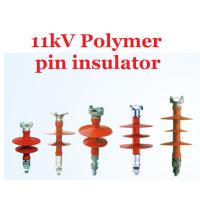 Wholesale Power Line Polymeric 11kv Pin Insulator IEC61109 High Flexibility from china suppliers