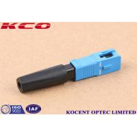 Wholesale FTTH Solution Product SC /UPC Fast Quick connector 2.0MM 3.0MM from china suppliers