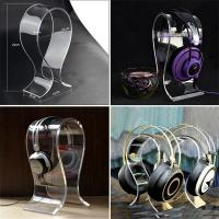 Wholesale Wholesale Desktop Black Acrylic Earphone / Headphone / Headset Display Holder from china suppliers
