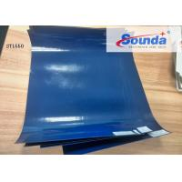 China Matte Glossy Surface PVC Laminated Tarpaulin for Truck Cover Anti UV 500 * 500D on sale