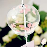 Wholesale Handblown glass hanging windbells,handblown glass hanging ,DJ-10002 from china suppliers