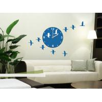 Wholesale 3M Removable Vinyl Foreign Design Wall Sticker Clock / Non - Toxic stickers 25A005 from china suppliers