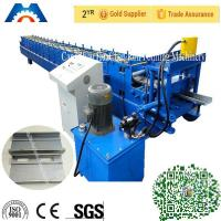 Wholesale 3 Tons Shutters Door Frame Roll Forming Machine 180mm Width With PLC Control from china suppliers