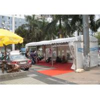 Wholesale Aluminum Profile UV Resistant Car Outdoor Exhibition Tents White PVC Fabric Cover from china suppliers