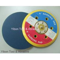 China 6 inch PSA Sanding pad with 6 holes on sale