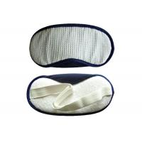 Wholesale Velcro customized Sleeping Eye Shades White Waffle With TC Fabric Nose Pad from china suppliers