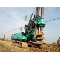 Wholesale Durable Mobile Pile Driving Equipment Max Torque 80kNm KR80K Rotary Piling Rig Machine from china suppliers