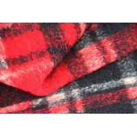 Wholesale Red And Blank  Squares Classics Winter Coat Lining Fabric Scottish Tartan Material from china suppliers